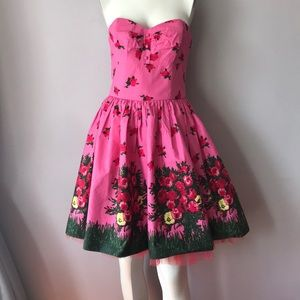 Betsey Johnson Fat Flare Cocktail Dress